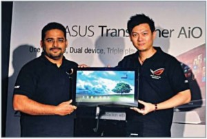 ASUS launches All-in-one pc with detachable tablet